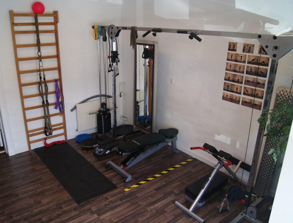 Birkerød Fysioterapi's træningsrum